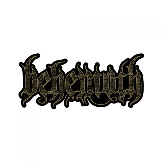 Behemoth - Engraved Logo - Sew-On Patch