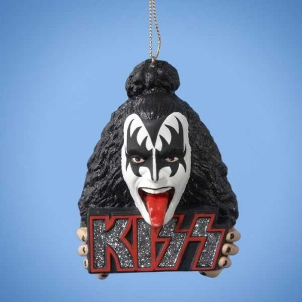 Kiss - Gene Simmons Xmas Ornament