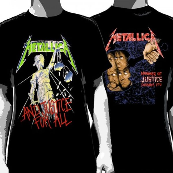Metallica - And Justice For All Black Shirt