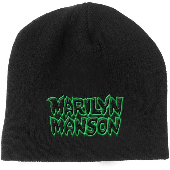 Manson, Marilyn - Knit Beanie - Embroidered - Logo