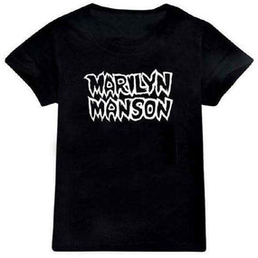 Manson, Marilyn - Classic Logo Toddler and Youth Black Shirt