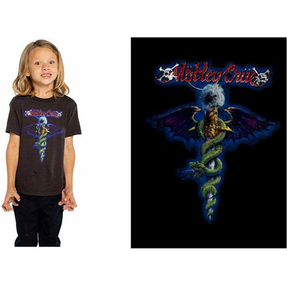 Motley Crue - Dr Feelgood Toddler and Youth Black Shirt