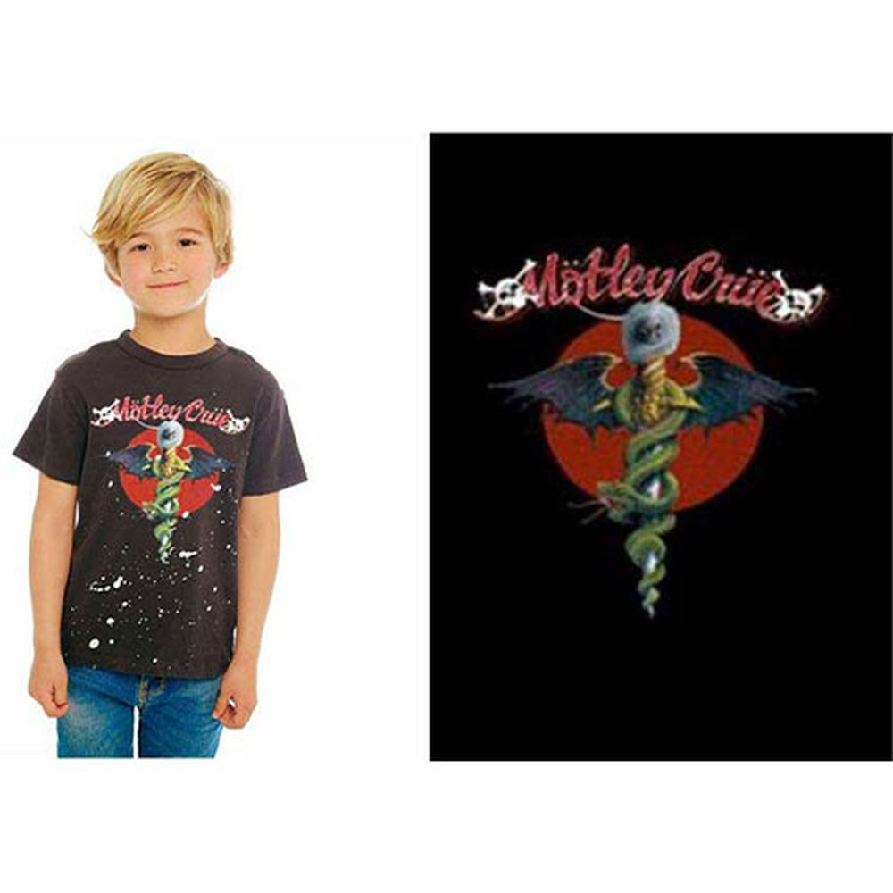 Motley Crue - Dr Feelgood Red Circle Toddler and Youth Shirt