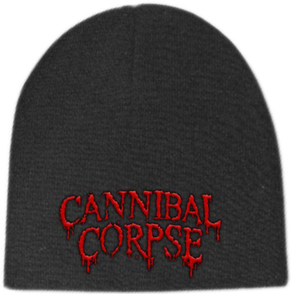 Cannibal Corpse - Knit Beanie - Embroidered - Red Logo