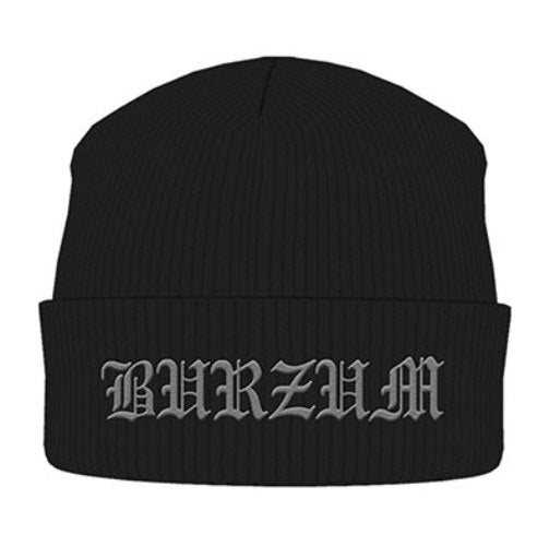 Burzum - Knit Beanie - Embroidered - Logo
