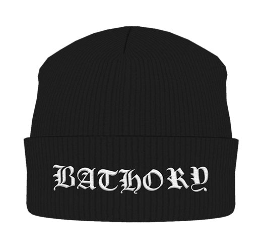 Bathory - Knit Beanie - Embroidered - Logo