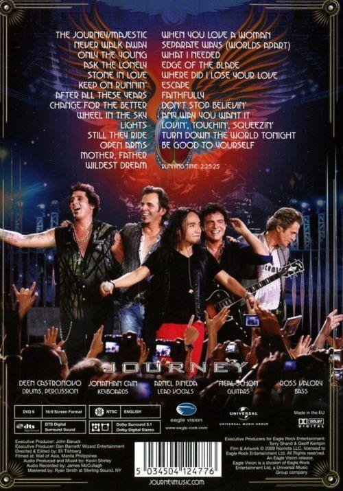 Journey - Live In Manila (2016 reissue) (R0) - DVD - Music