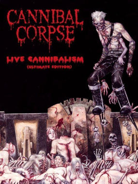 Cannibal Corpse - Live Cannibalism (Ultimate Ed. w. Monolith Of Death Tour 96/97) (R0) - DVD - Music