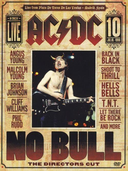 ACDC - No Bull - The Directors Cut (R0) - DVD - Music