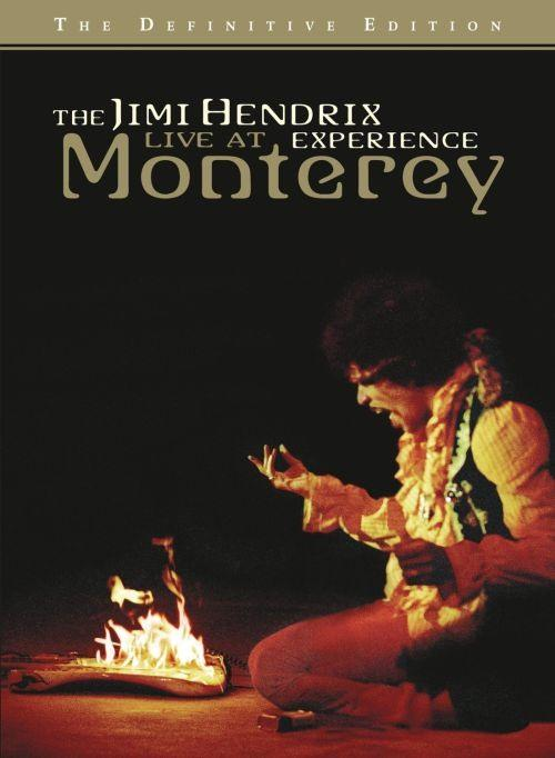 Hendrix, Jimi - Live At Monterey - The Definitive Edition (R0) - DVD - Music