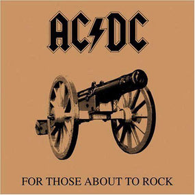 ACDC - For Those About To Rock We Salute You (gatefold) - Vinyl - New