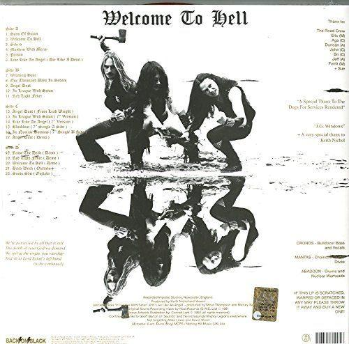 Venom - Welcome To Hell (Ltd. Ed. 180g 2LP gatefold) - Vinyl - New