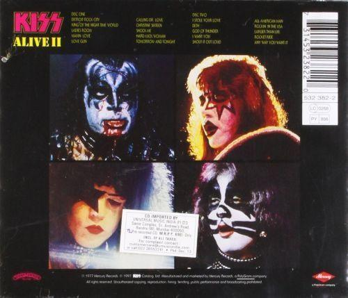 Kiss - Alive II (2CD) - CD - New