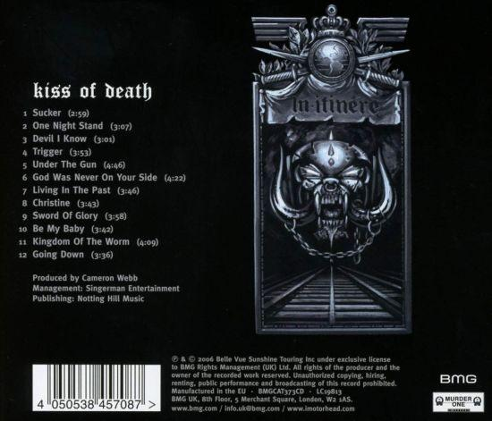 Motorhead - Kiss Of Death (2019 reissue) - CD - New