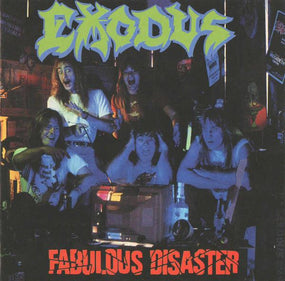 Exodus - Fabulous Disaster (w. 4 bonus live tracks) - CD - New