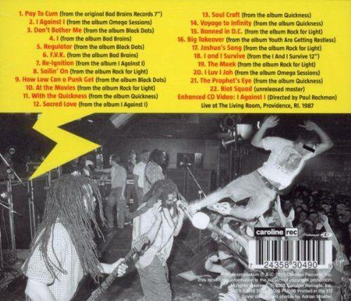 Bad Brains - Banned In D.C. - Bad Brains Greatest Riffs (Euro.) - CD - New