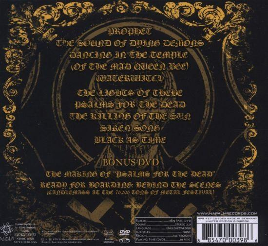 Candlemass - Psalms For The Dead (Ltd. Ed. CD/DVD) (R0) - CD - New