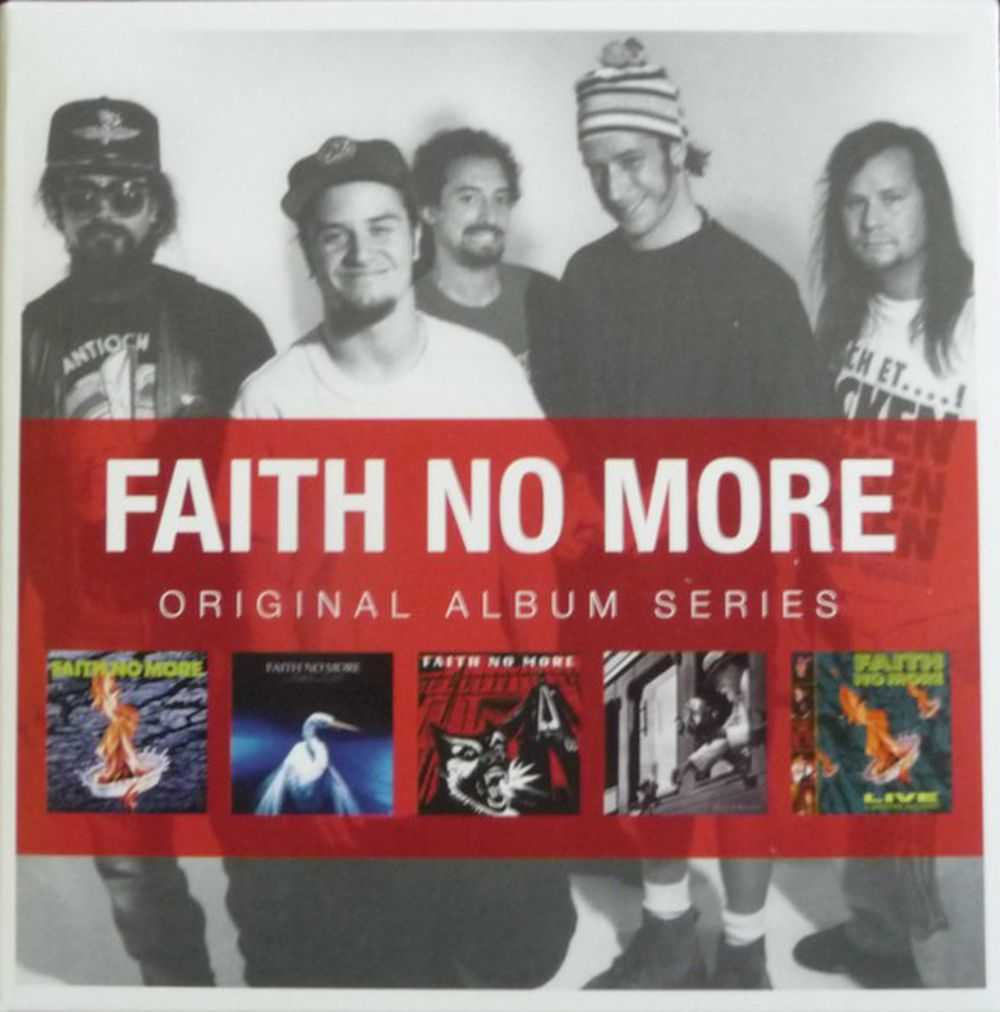 Faith No More - Original Album Series (The Real Thing/Angel Dust/King For A Day Fool For A Lifetime/Album Of The Year/Live At The Brixton Academy) (5CD) - CD - New