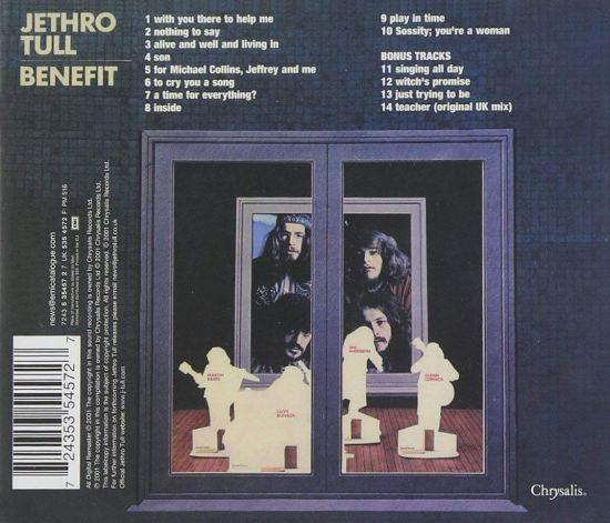 Jethro Tull - Benefit (rem. w. 4 bonus tracks) - CD - New