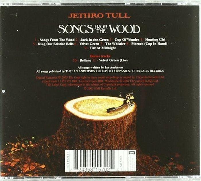 Jethro Tull - Songs From The Wood - CD - New