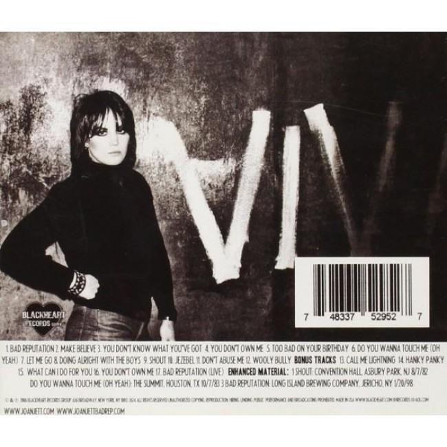 Jett, Joan - Bad Reputation (rem. w. 5 bonus tracks) - CD - New