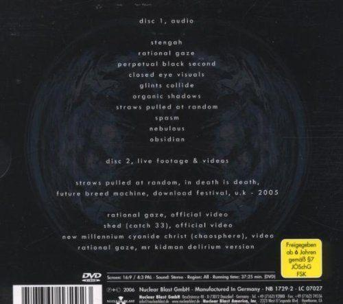 Meshuggah - Nothing (Spec. Ed. CD/DVD) - CD - New