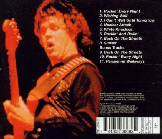 Moore, Gary - Rockin Every Night - Live In Japan - CD - New