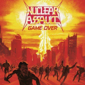 Nuclear Assault - Game Over/The Plague (w. 5 bonus live tracks) (Euro.) - CD - New