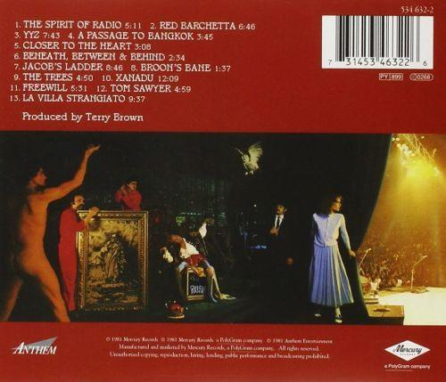 Rush - Exit Stage Left - CD - New