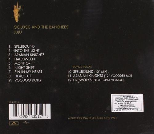 Siouxsie And The Banshees - Juju - CD - New