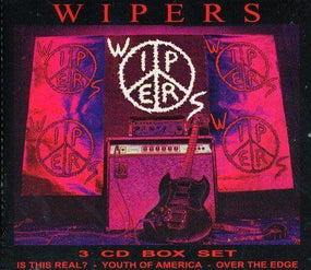 Wipers - Wipers Box Set (Is This Real/Youth Of America/Over The Edge + 23 Bonus Tracks (3CD)- CD - New