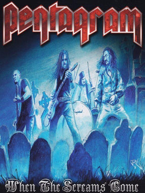 Pentagram - When The Screams Come (R1) - DVD - Music