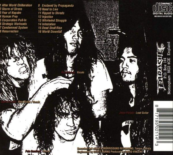 Terrorizer - World Downfall (2019 FDR rem.) - CD - New