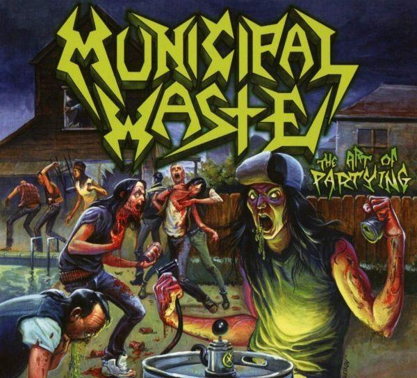 Municipal Waste - Art Of Partying, The (2019 reissue) - CD - New