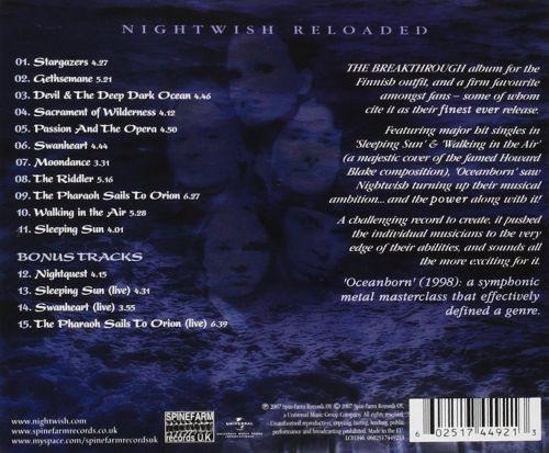 Nightwish - Oceanborn (Coll. Ed. w. 4 bonus tracks) - CD - New