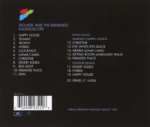 Siouxsie And The Banshees - Kaleidoscope - CD - New