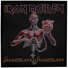 Iron Maiden - Seventh Son Sew-On Patch