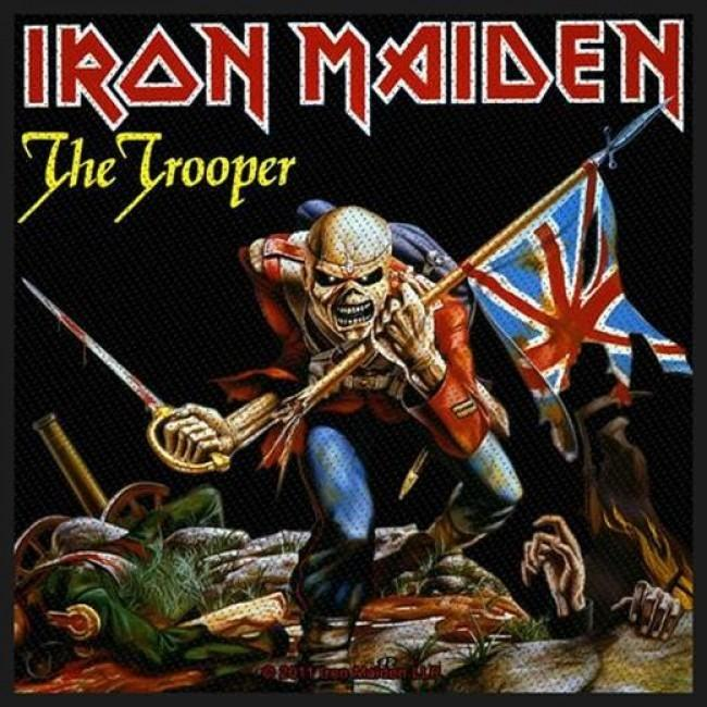 Iron Maiden - Trooper Logo Sew-On Patch