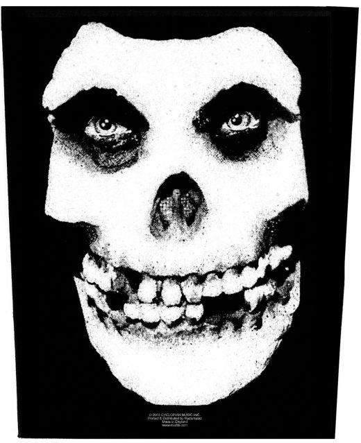 Misfits - Fiend Skull - Sew-On Back Patch