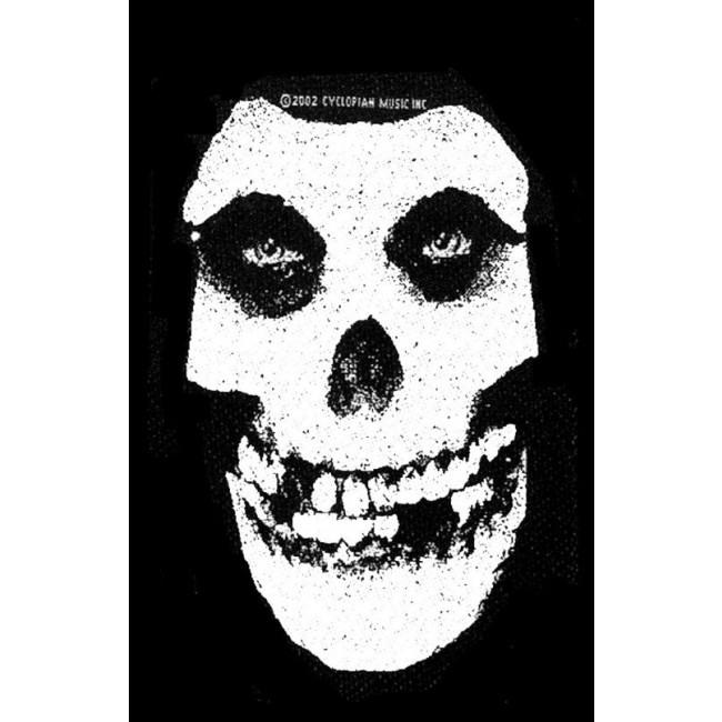 Misfits - Skull Sew-On Patch