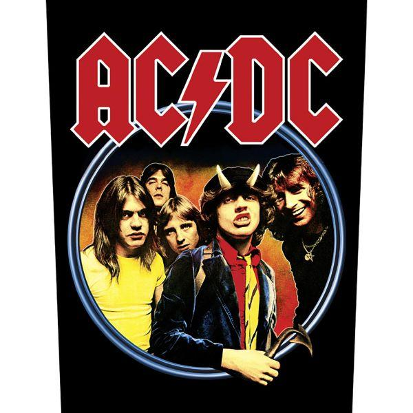 ACDC - Highway To Hell Back - Sew-On Back Patch