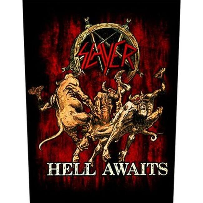 Slayer - Hell Awaits - Sew-On Back Patch