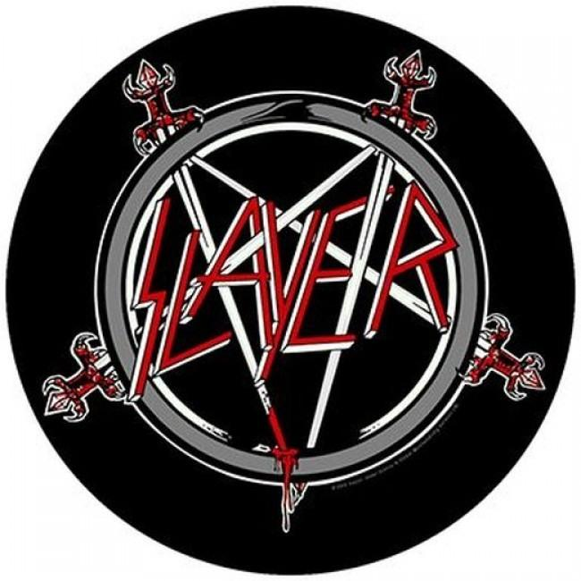 Slayer - Pentagram - Sew-On Back Patch
