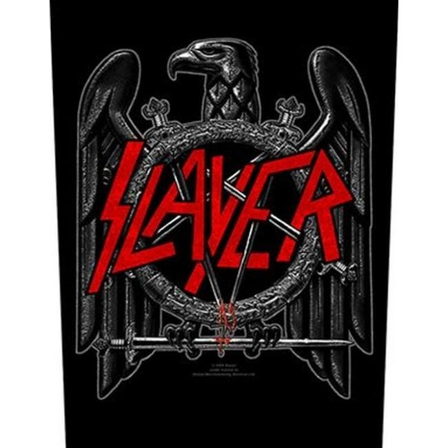 Slayer - Black Eagle - Sew-On Back Patch