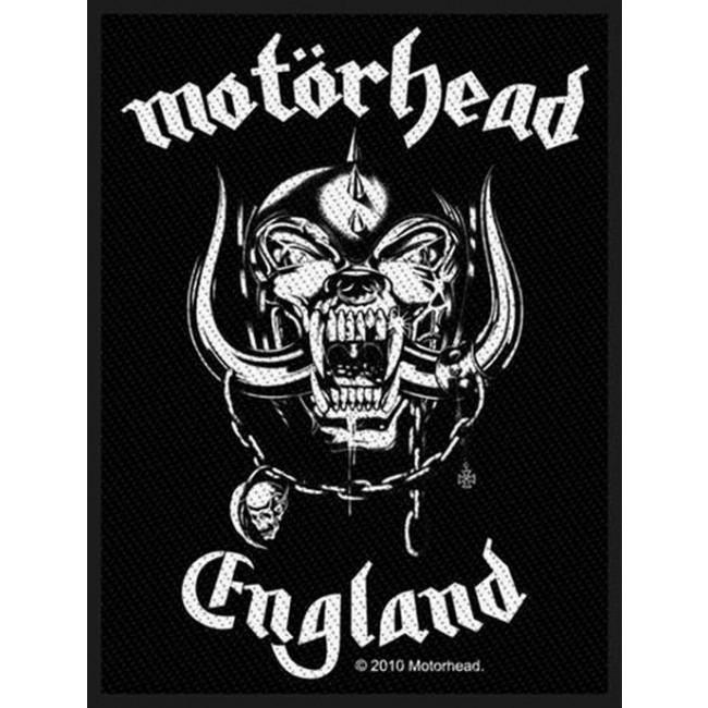 Motorhead - England Sew-On Patch