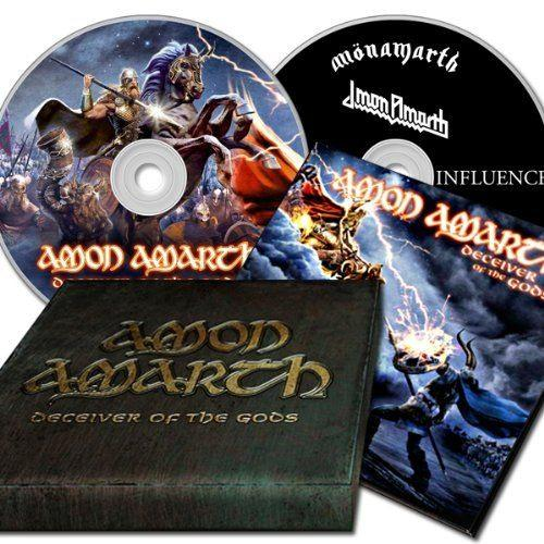 Amon Amarth - Deceiver Of The Gods (Deluxe Ed. Box w. 4 song EP) - CD - New