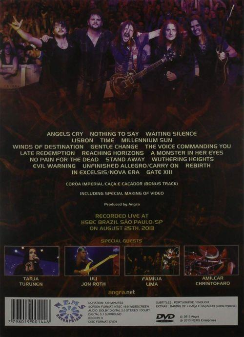 Angra - Angels Cry 20th Anniversary Tour (R0) - DVD - Music