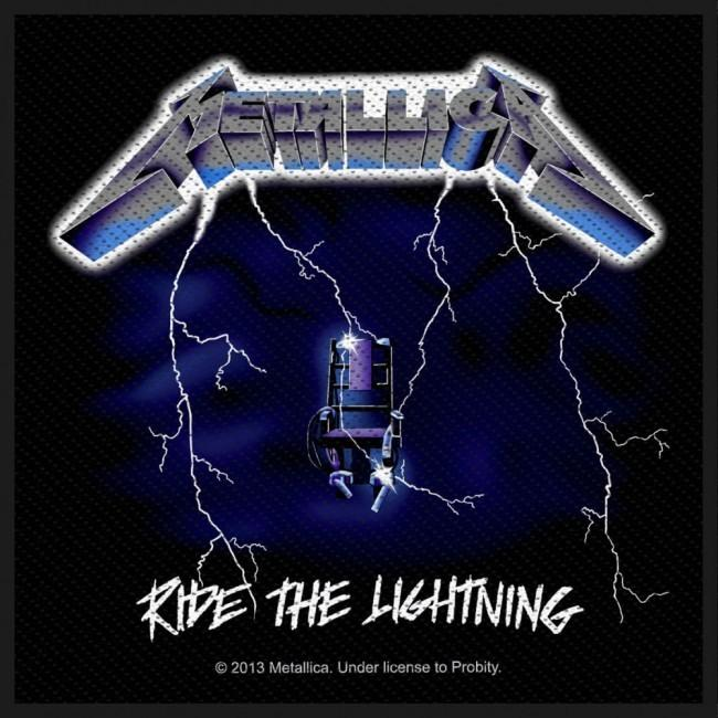 Metallica - Ride The Lightning Sew-On Patch