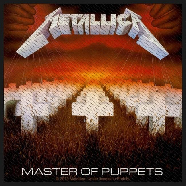Metallica - Master Of Puppets Sew-On Patch