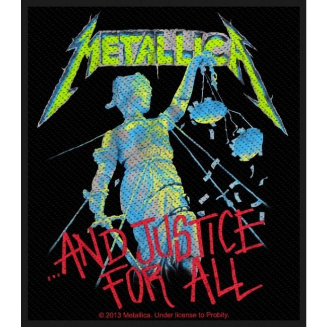 Metallica - And Justice For All Sew-On Patch